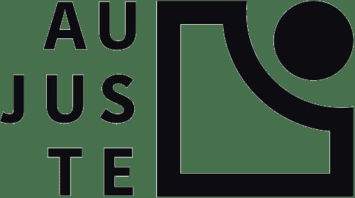 Logo Au Juste, l'équilibre entre responsabilité et envie